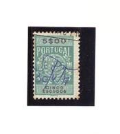 Portugal # Selo Fiscal # Valor 5$00 - Fiscaux