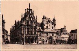 MALINES-STADHUIS EN OUDE LAKENHALLEN-HOTEL DE VILLE ET ANCIENNES HALLES AUX DRAPS-NON VIAGGIATA - Machelen