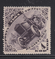 Tannu Tuva 1934 MH Scott #48 4k Tractor - Tuva