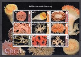 British Antarctic Territory / BAT MNH Corals Sheet From 2017 - Brits Antarctisch Territorium  (BAT)