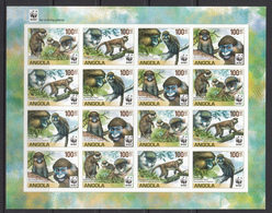 Angola MNH Michel Nr 1851/61 From 2011 WWF / Catw 32.00 EUR - Angola