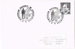 29092. Carta SEVILLA 1988, Synposium De Agro Quimicos. Quimica, Agricultura - 1931-Hoy: 2ª República - ... Juan Carlos I