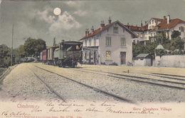 Chexbres - Gare Avec Train Vapeur - 1904       (P-152-60911) - VD Waadt