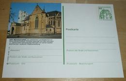 BUND BRD Ganzsache Bildpostkarte 1981 (aln) Burgen Und Schlösser - 5401 Münstermaifeld (Foto)(260296) - [7] Repubblica Federale
