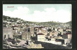 AK Nazareth, Ortspanorama Aus Der Vogelschau - Palästina