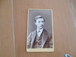 Photo Cdv Fin XIXème Début XXème Lumière Lyon MR Pradell Juillet 1873 - Personnes Identifiées