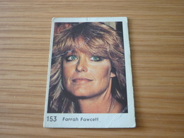 Farrah Fawcett Charlie's Angels Old MELO Greek '70s Game Trading Card - Trading Cards