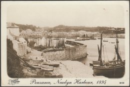 Repro - Newlyn Harbour In 1895, Penzance, Cornwall - Frith's Postcard - Other