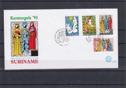 Surinam Michel Cat.No. FDC 1529/1532 + Sheet 66 - Surinam