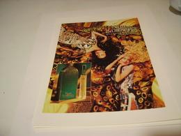 ANCIENNE PUBLICITE PARFUM NUIT INDIENNE DE JEAN LOUIS SCHERRER  1994 - Perfume & Beauty
