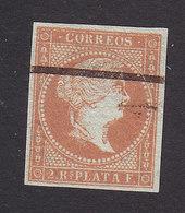 Cuba, Scott #4, Used, Queen Isabella II, Issued 1855 - Cuba (1874-1898)