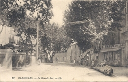 C P A  -OLLIOULES La Grand Rue - Ollioules