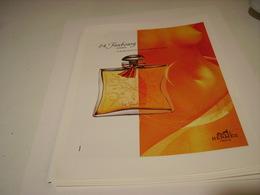 ANCIENNE AFFICHE  PUBLICITE PARFUM 24 FAUBOURG DE HERMES 1995 - Parfums & Beauté