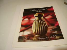 ANCIENNE AFFICHE  PUBLICITE PARFUM ANNICK GOUTAL 1995 - Parfums & Beauté