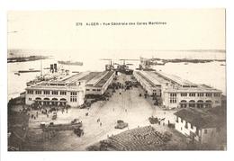 Algérie, Alger, Vue Générale Des Gares Maritimes (4053) - Algiers