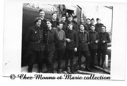 WWII - 6 EME REGIMENT DONT FFL - CARTE PHOTO MILITAIRE - Guerra 1939-45