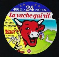 Etiquette Fromage La Vache Qui Rit 24 Portions Astérix Prépare Les Jeux Olympiques - Cheese