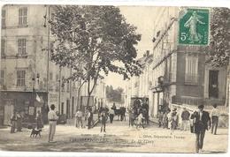 C P A  -OLLIOULES  Avenue De La Gare - Ollioules