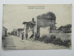 AVANCON  Route De St.loup  (état Voir Photo)   08 Ardenne - Otros Municipios