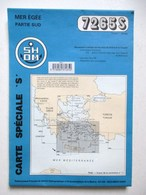 CARTE MARINE 7265S MER EGEE PARTIE SUD GRECE TURQUIE - Nautical Charts