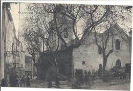 C P A  -OLLIOULES Place Et L Eglise - Ollioules