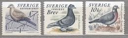 BIRDS SWEDEN 2004 Doves Pigeons Mi 2416-2418 MNH (**) #22710 - Other