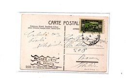 MK795 - LIBANO 1933 , Cartolina X L'Italia  . - Libano