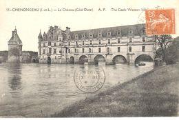 (37) Indre Et Loire - CPA - Chenonceau - Le Château - Chenonceaux