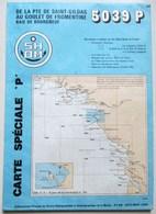 CARTE MARINE 5039P DE LA PTE DE SAINT GILDAS AU GOULET DE FROMENTINE BAIE DE BOURGNEUF PORNIC NOIRMOUTIER - Nautical Charts