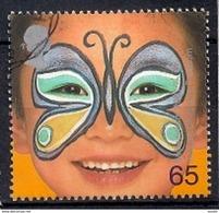 Great Britain 2001 - Painted Faces Of Children - 1952-.... (Elizabeth II)