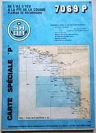 CARTE MARINE 7069 P DE L ILE D YEU A L APTE DE LA COURBRE PLATEAU DE ROCHEBONNE OLERON ILE DE RE - Cartes Marines
