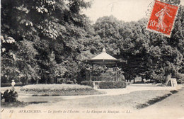 AVRANCHES - Le Jardin De L' Evéché  - Le Kiosque A Musique (107608) - Avranches