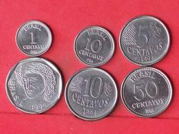 BRAZIL    - LOT 6 COINS - 2 SCANS  - (Nº10774) - Brasil