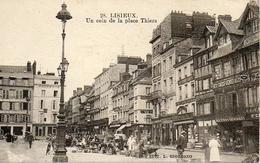 Lisieux (14) - Un Coin De La Place Thiers - Animé - Lisieux