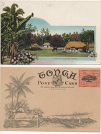 TONGA - A NATIVE VILLAGE #54 - Tonga