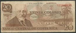 Costa Rica  Categories   Banknoten   Südamerika    Costa Rica 20 Colones - Banknotes