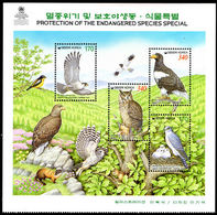 South Korea 1999 Protection Of Wildlife Sheetlet Unmounted Mint. - Korea, South