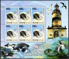 North Korea 2006 Dolphins And Killer Whales Sheetlets Unmounted Mint. - Korea, North