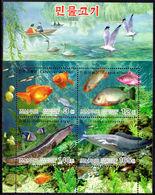 North Korea 2004 Fish Souvenir Sheet Unmounted Mint. - Korea, North