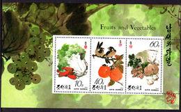 North Korea 1993 Fruits Sheetlet Unmounted Mint. - Korea, North
