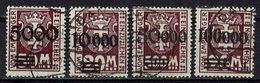 Danzig 1923 // Mi. P26/29 O (024..672) - Dantzig