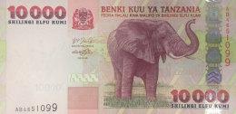 Tanzania 10.000 Shilingi, P-39 (2003) UNC - Tanzanie