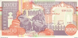 SOMALIA 1000 SHILLINGS 1990 (2000)  P-R10 Serie 460 PUNTLAND REGION LITHOGRAPHED - Somalie