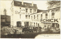 "Linkebeek. Hôtel-Restaurant ""Les Sports"". Terrasse. Apéritif Inédit Schick. - Linkebeek"