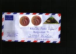 Kenya Interesting Airmail Letter - Kenya (1963-...)