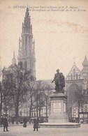 Antwerpen,  Anvers, De Groenplaats En Standbeeld Van P.P. Rubens (pk49323) - Antwerpen