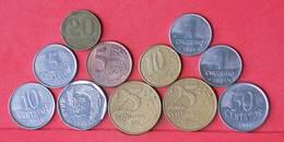 BRAZIL    - LOT 11 COINS - 2 SCANS  - (Nº10786) - Brasil