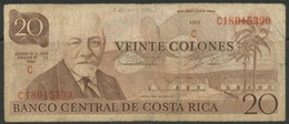 Costa Rica  Categories   Banknoten   Südamerika    Costa Rica 20 Colones - Other - America