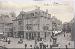 Arlon - Grand'Place Et Rue Du Marchè Au Beurre - HP634 - Arlon