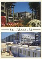 St. IDESBALD  : Deux Vues (résidences, Digue Et Plage) - België